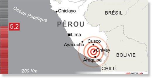 Les six plus grands sismes du monde annoncs