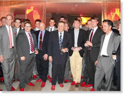 Red shoes Tony Podesta