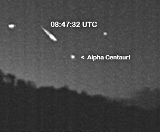 Rare Quadrantid Meteors In The Southern Skies
