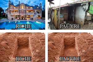 Meme riche & pauvre