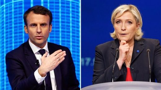macron le pen french elections