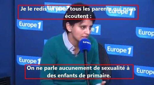 Quel est ce pays ? L'éducation nationale lui refuse l'accès aux vidéos sexuelles diffusées à ses enfants (Chrétiens2000) dans Réveil Belkacem