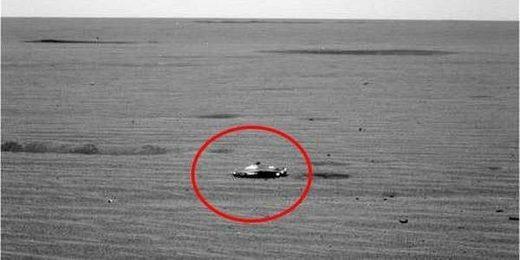 Un vaisseau spatial photographié sur Mars ?  Mars_vaisseau