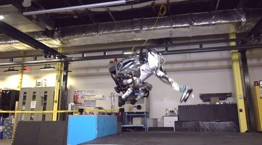 Atlas robot Boston dynamic