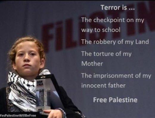Ahed Tamimi Palestinian girl activist