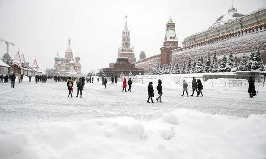 Moscow buried in heaviest late January snowfall in 50 years (PHOTOS)