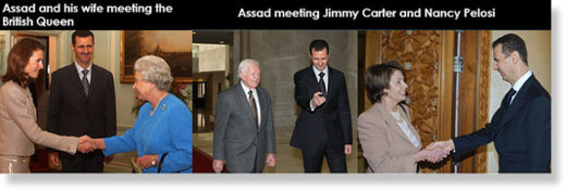 Assad visits Western countries
