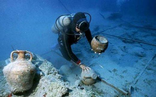 underwater dig crimea