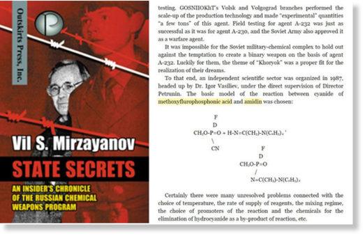 Vil Mirzayanov State secrets