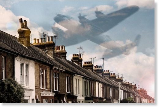 Was a ghost plane really seen in Derbyshire's skies?