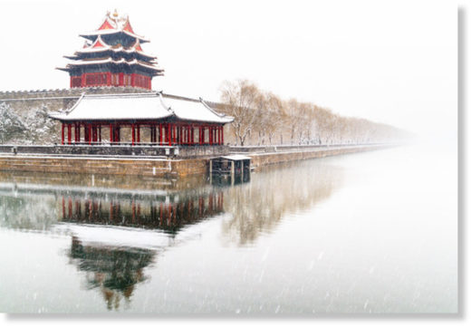 Brutal cold follows rare April snow in Beijing