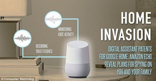 digital assistants home invasion, amazon voice sniffer