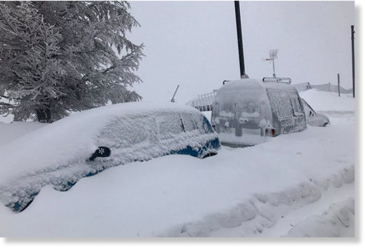 Even more fresh snow for the Sierra Nevada, Spain