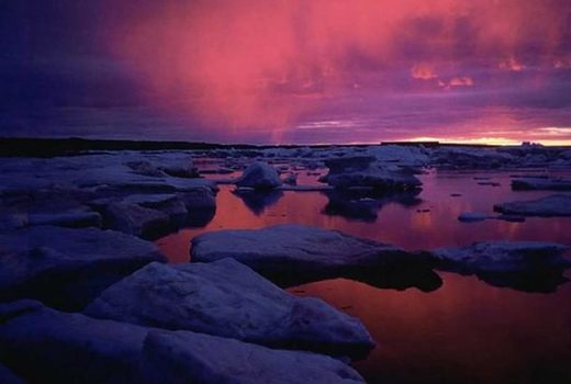 Sunset at Hudson Bay
