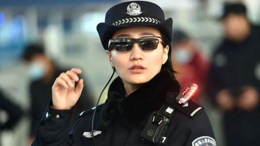 China, police, goggle
