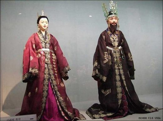 silla kingdom costumes korea