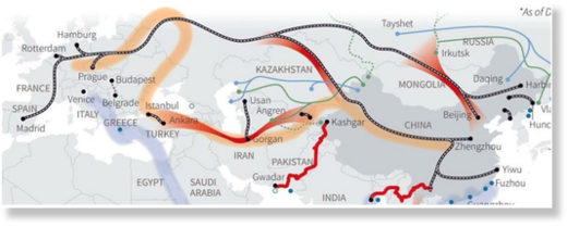 Silk Road China Eurasia