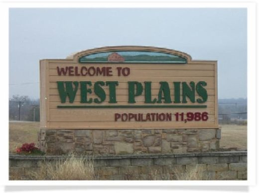West Plains, NO sign