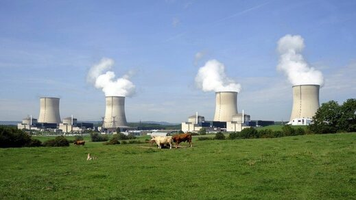 EDF nuclear plant at Cattenom france