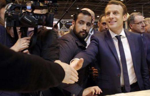 Macron, Benalla