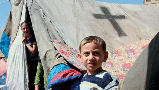 réfugiés chrétiens de Syrie