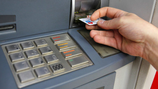 ATM card transaction