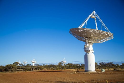 The Australian Square Kilometre Array Pathfinder (ASKAP) Telescope