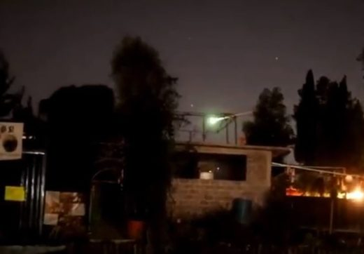 Bright meteor fireball disintegrates over Mexico City on December 8, 2018