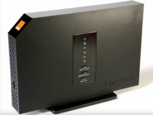 Livebox Arcadyan, Orange