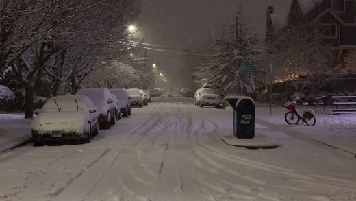Seattle snow storm