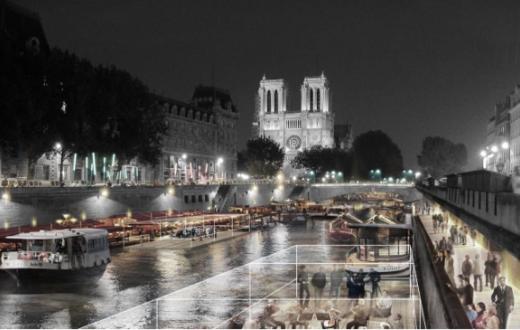 Projet Il de la Cité Perrault