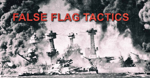 False flag tactics