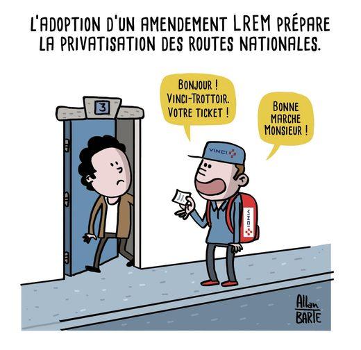 privatisation routes