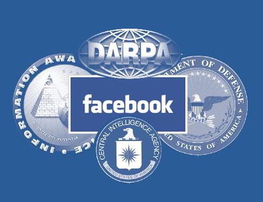 Facebook Darpa Pentagone CIA