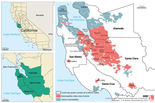 Californie et Silicon Valley