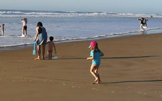 enfant, children, plage, beach, sea, sand