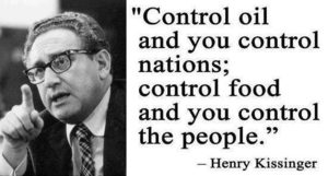 control food Kissinger