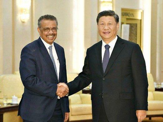 News au 26 juin 2020 Xi_and_Tedros