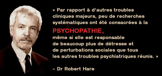Citation Robert Hare Psychopathie