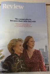 Propagande The Guardian Hillary Clinton Couverture magazine