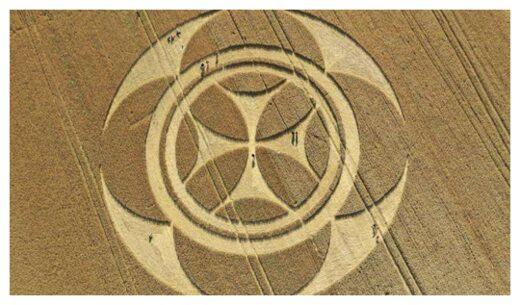 Templar Crop Circle à Vimy près de Lens