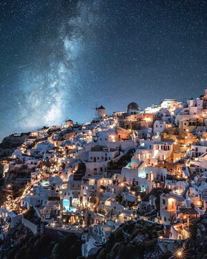 In a parallel universe (Santorini)