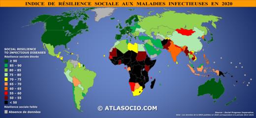 Indice de résilience sociale aux maladies infectieuses