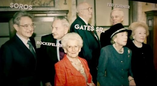 Soros, Rockfeller, Gates Sr, Ted Turner