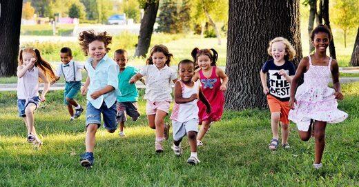 Enfants en bonne santé