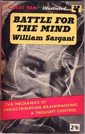 Livre Battle for the Mind, William Sargant