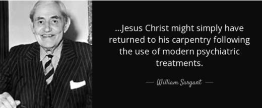 Citation William Sargant