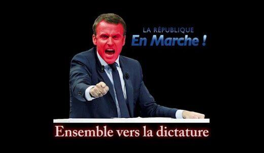 macron dictature