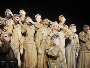 Le chœur du théâtre grec antique