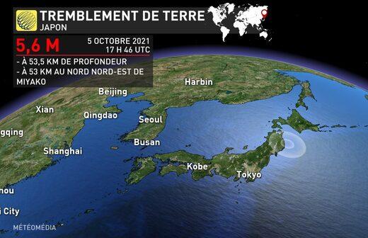 séisme japon